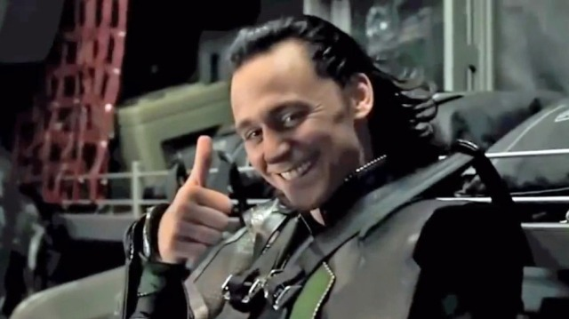 Loki thumbs up