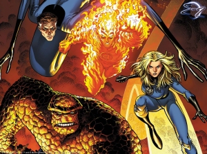 Fantastic Four 01 - comic